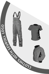 clothes with Sevroll logo